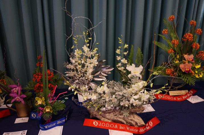 Floral art on display at John Oxley District Orchid Society Annual Show